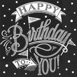 Hooray, It's Your Birthday Luncheon Napkins-36ct