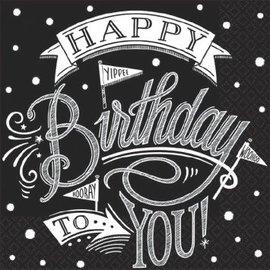 Hooray, It's Your Birthday Beverage Napkins-36ct