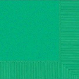 Festive Green 2-Ply Beverage Napkins