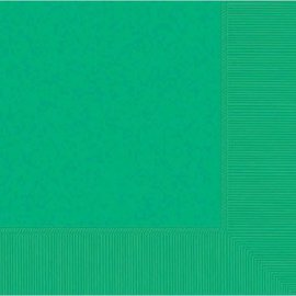 Festive Green 2-Ply Luncheon Napkins