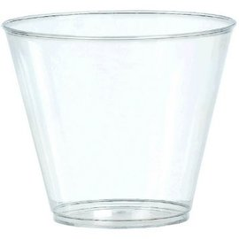 Clear Plastic Tumblers, 20ct