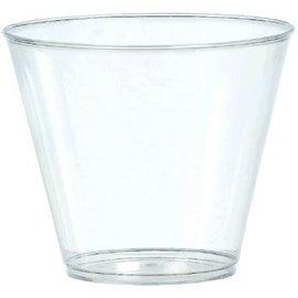 Clear Plastic Tumblers, 20ct