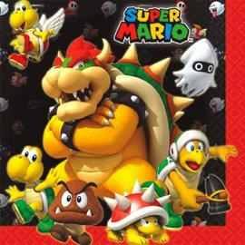 Super Mario Brothers™ Luncheon Napkins-16ct