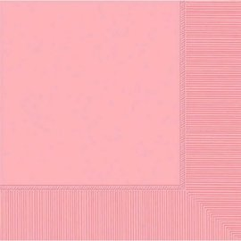 New Pink 2-Ply Beverage Napkins, 50ct