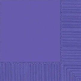 New Purple 2-Ply Beverage Napkins, 50ct