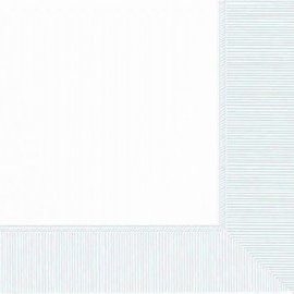 Frosty White 2-Ply Beverage Napkins, 50ct