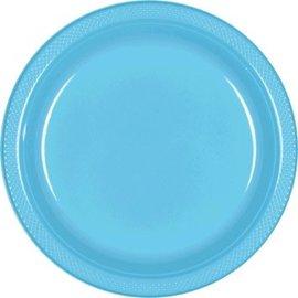 """Caribbean Plastic Plates, 9"""", 20ct"""