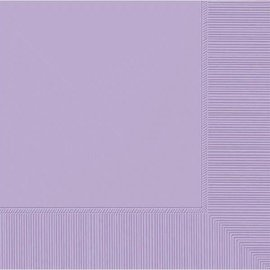 Lavender 2-Ply Beverage Napkins, 50ct