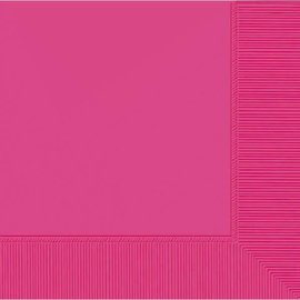 Bright Pink 2-Ply Luncheon Napkins