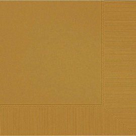 Gold 2-Ply Luncheon Napkins