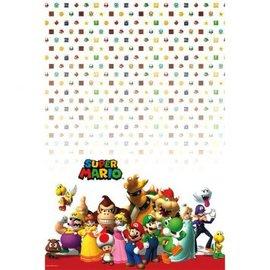 Table Cover Plastic Super Mario