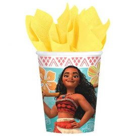 ©Disney Moana Cups, 9 oz. 8 ct