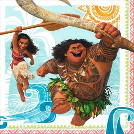 ©Disney Moana Luncheon Napkins, 16ct