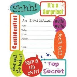 Surprise Invitations 20ct