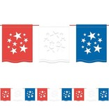American Summer Flag Banner