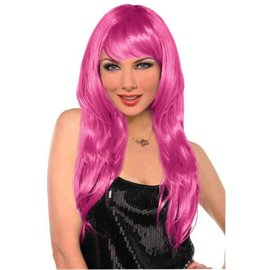 Pink Glamourous Wig