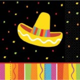 Fiesta Fun Beverage Napkins-16ct