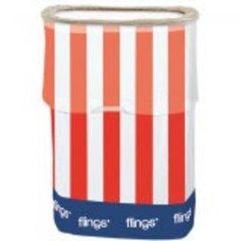 Flings® Bin Patriotic ‑ Pop‑Up Trash Bin
