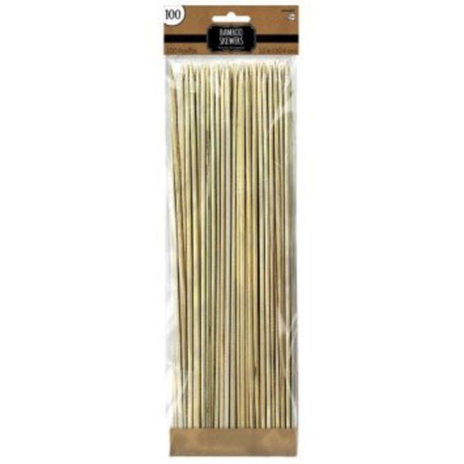 """Bamboo Skewers, 12"""" - 100 count"""