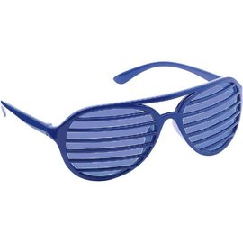 Blue Slot Glasses