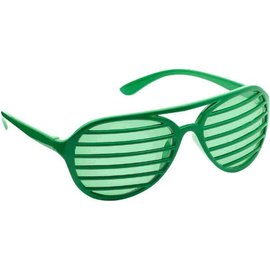 Green Slot Glasses