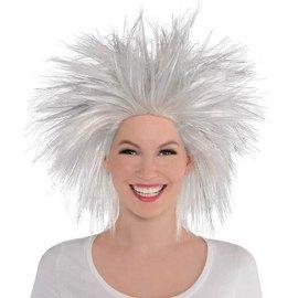 Silver Crazy Wig