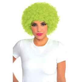 Neon Curly Wig