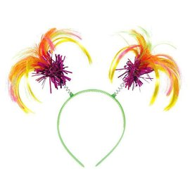 Neon Ponytail Headband