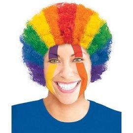 Rainbow Curly Wig
