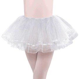 White Shimmer Tutu - Child M/L