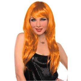 Orange Glamourous Wig