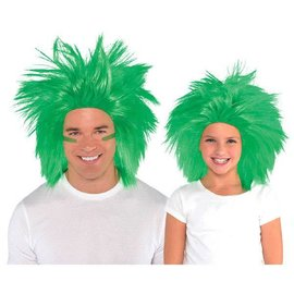 Green Crazy Wig
