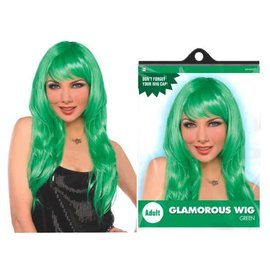 Green Glamourous Wig