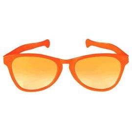 Orange Jumbo Glasses