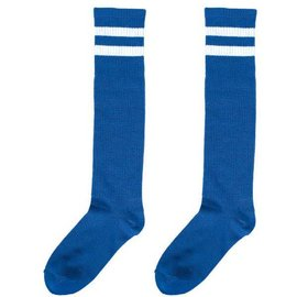 Blue Striped Knee Socks