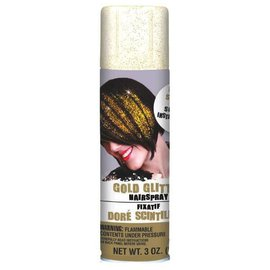 Gold Glitter Hair Spray 3oz