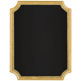 Easel Sign - Gold Glitter