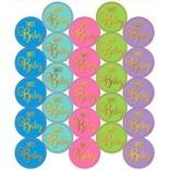 Baby Shower Sticker Seals - Neutral 25ct