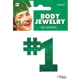 Green #1 Body Jewelry
