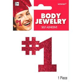 Red #1 Body Jewelry