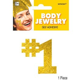 Gold #1 Body Jewelry