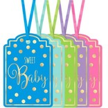 Baby Shower Foil Stamp Tags - Neutral 25ct