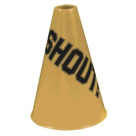 Gold Shout Megaphone