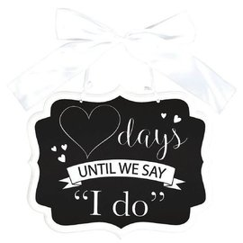 Countdown To I Do Sign