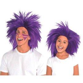 Purple Crazy Wig