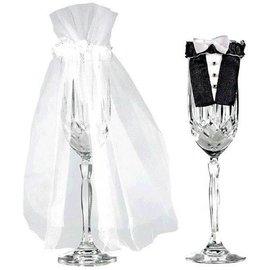 Bride and Groom Stem Wear
