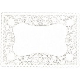 White Doily Placemats, 9ct