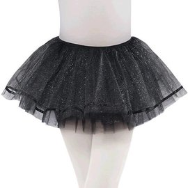 Black Shimmer Tutu - Child S/M