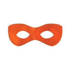 Orange Super Hero Mask