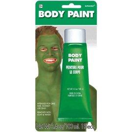 Green Body Paint